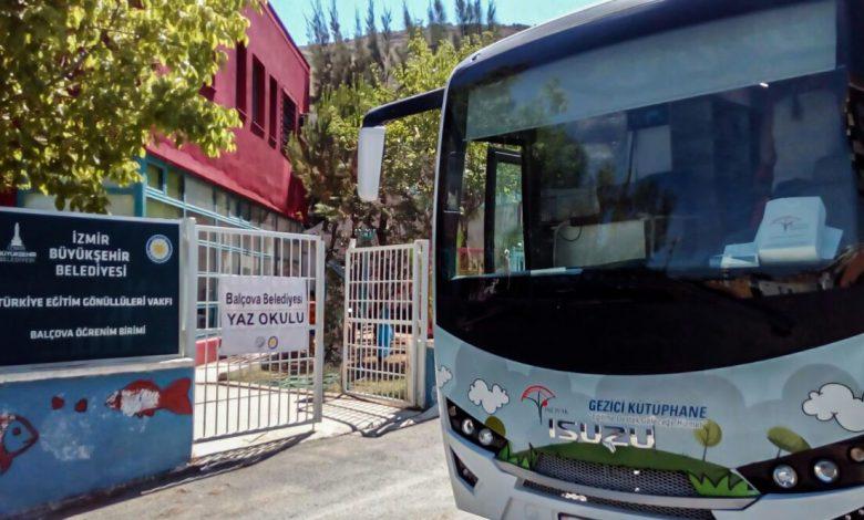 Photo of Anadolu Isuzu Aracı Gezici Kütüphane Projesi ile  Okulları Ziyaret Etmeye Devam Ediyor